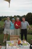 A winning team:  Peter Breakell, Rona Barford, Mike Bell, Rick Jones