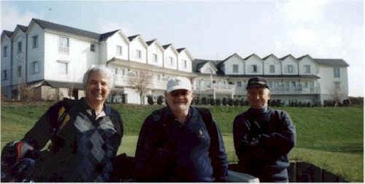 Martin Smith, Gerry Young, Robert Wheatley at Arras Golf Club